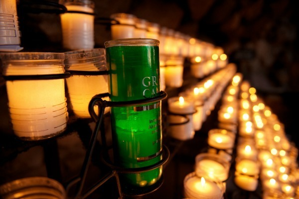 Grotto Green Candle