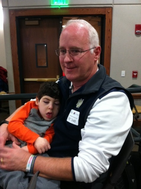 Pat Sarb With Grandson Owen At Nd S Rdd